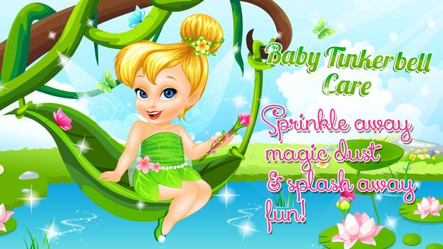 Baby Tinkerbell Care poster