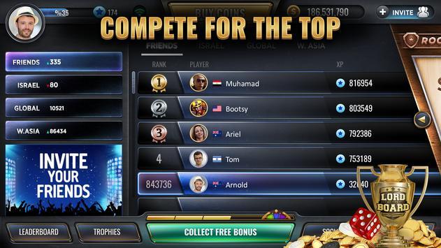 Backgammon screenshot 7