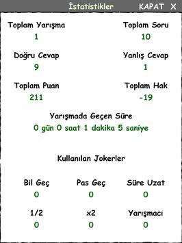 Bilgi Yarışması screenshot 9