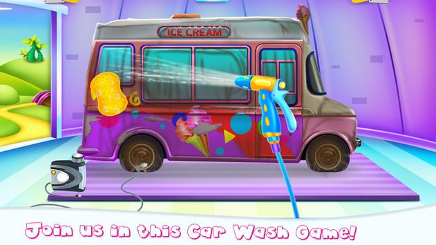 Girly Ice Cream Truck Car Wash screenshot 1