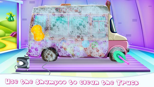 Girly Ice Cream Truck Car Wash screenshot 2