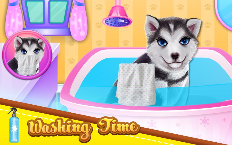 Husky Puppy Spa Salon For Android Apk Download
