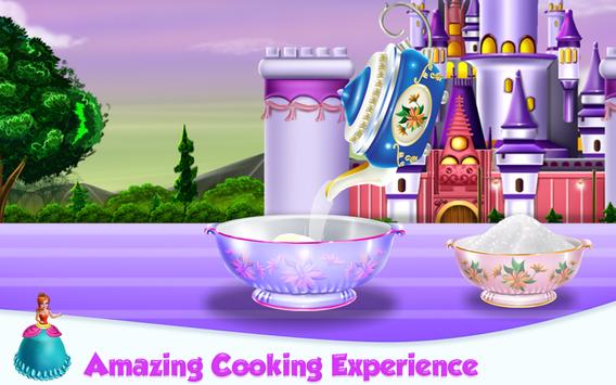 Princesses Cake Cooking screenshot 4