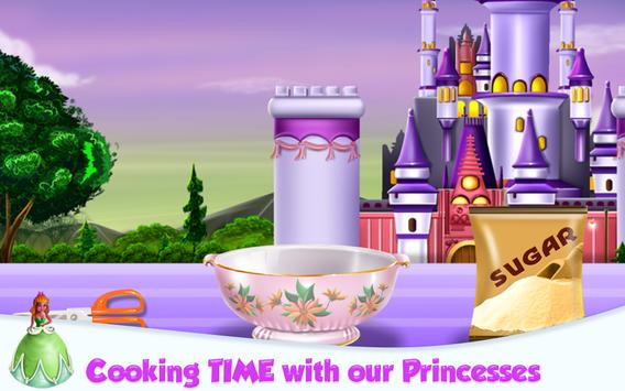 Princesses Cake Cooking screenshot 9
