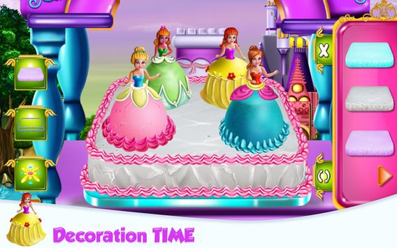 Princesses Cake Cooking screenshot 14