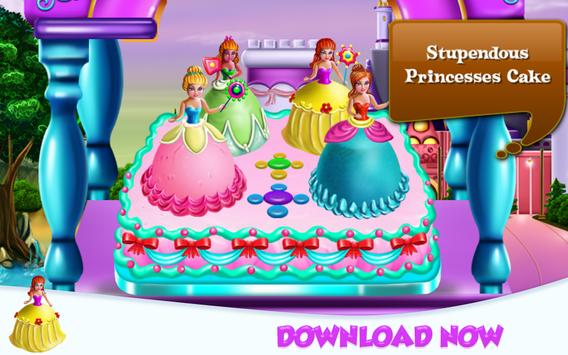 Princesses Cake Cooking screenshot 15