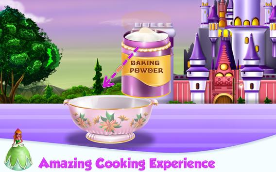 Princesses Cake Cooking screenshot 2