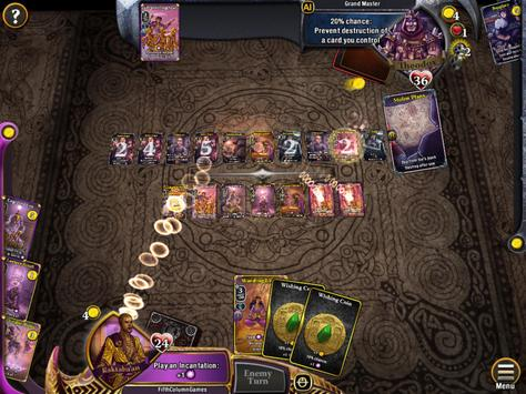 War of Omens Deck Builder Collectible Card Game screenshot 7