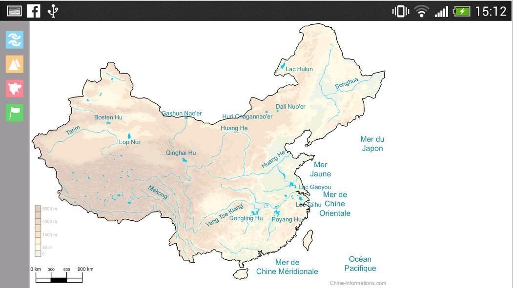 Carte Interactive De Chine For Android Apk Download