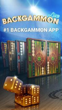 Backgammon الملصق