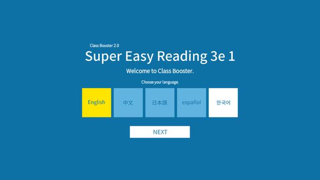 Super Easy Reading 3rd 1 poster
