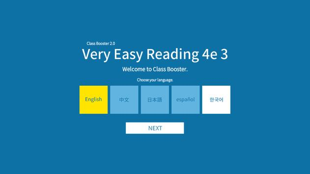 Very Easy Reading 4/e 3 poster