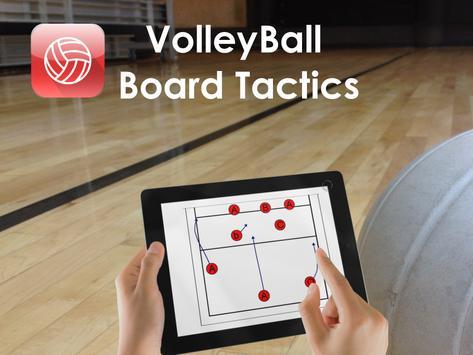 CoachIdeas - VolleyBall Board Tactics poster