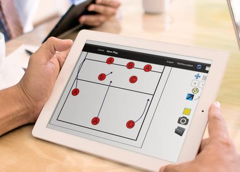 CoachIdeas - VolleyBall Board Tactics screenshot 8