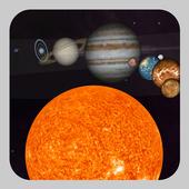 Solar System 3D icon