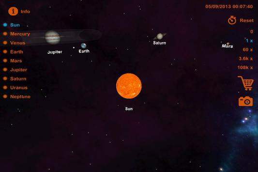 Solar System 3D screenshot 3