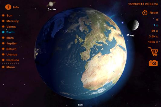 Solar System 3D poster