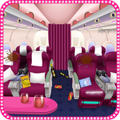 Holiday Airplane Cleaning icon