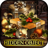 Hidden Objects Cozy Xmas: Colorful Christmas icon