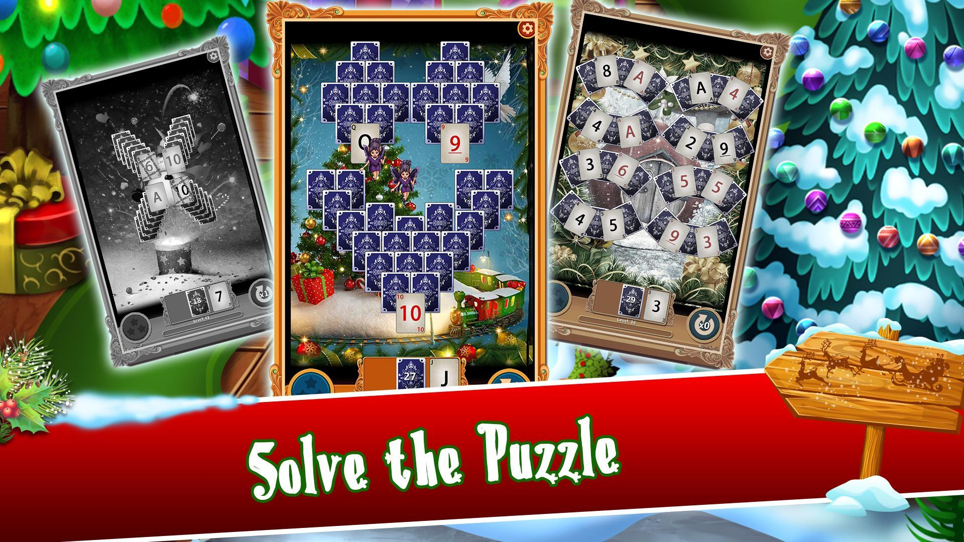 Christmas Solitaire.Christmas Solitaire Santa S Winter Wonderland For Android