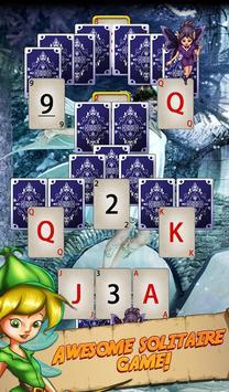 Solitaire Quest:  Elven Wonderland Story 포스터