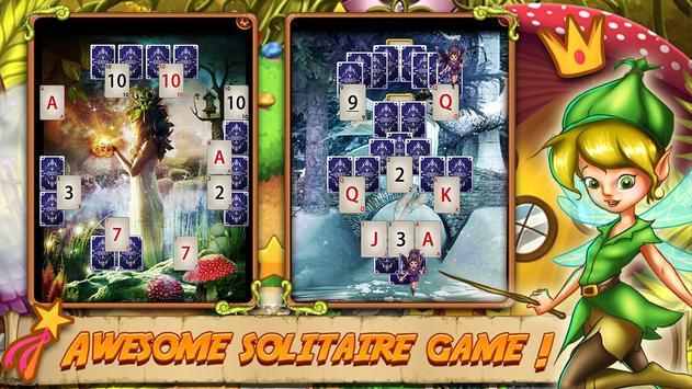 Solitaire Quest:  Elven Wonderland Story 스크린샷 16
