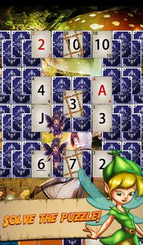 Solitaire Quest:  Elven Wonderland Story 스크린샷 13