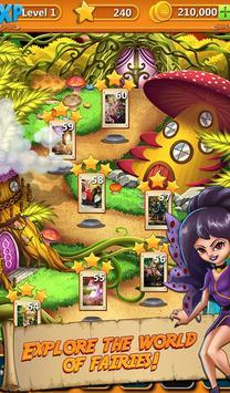 Solitaire Quest:  Elven Wonderland Story 스크린샷 1