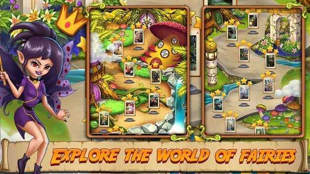 Solitaire Quest:  Elven Wonderland Story 스크린샷 9