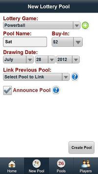 Lottery Pool Boss screenshot 1