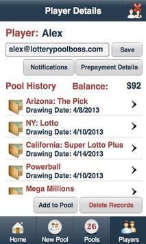 Lottery Pool Boss screenshot 2