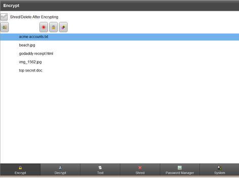 ES Encrypt screenshot 4