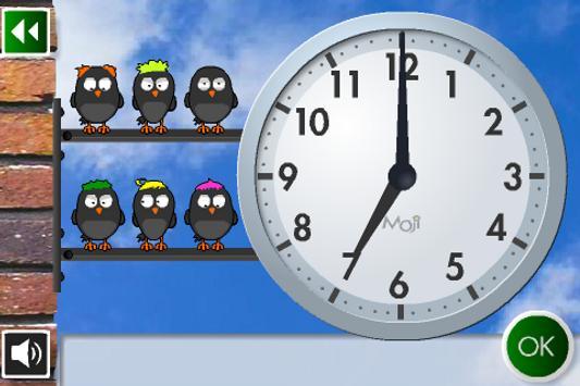 Moji Учим Часы Вместе screenshot 2