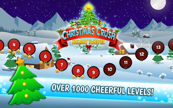 Christmas Crush Holiday Swapper 截图 13