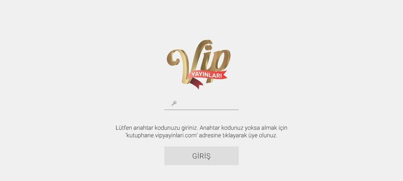VİP Mobil Kütüphane poster
