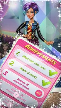 Dress up Game: Tris Runway screenshot 3