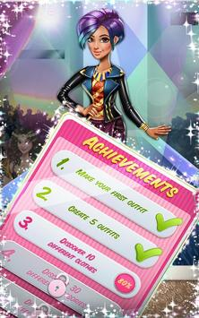 Dress up Game: Tris Runway screenshot 10