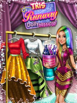 Dress up Game: Tris Runway screenshot 4