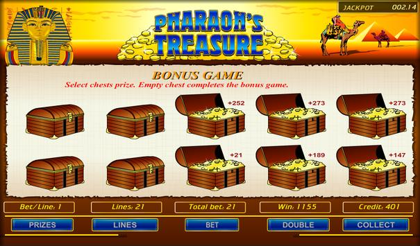 Pharaoh's Treasure screenshot 3