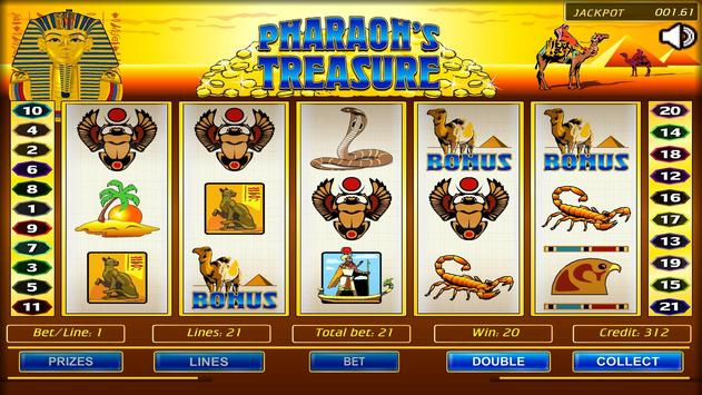 Pharaoh's Treasure poster