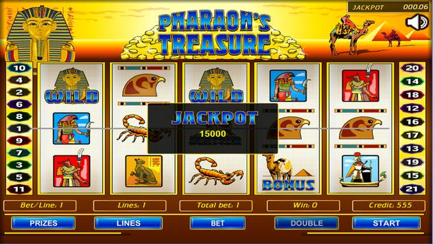 Pharaoh's Treasure screenshot 1