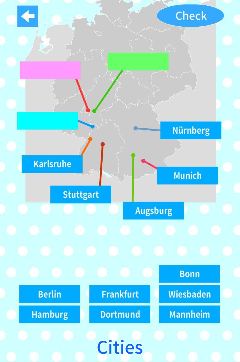 Germany States Map Quiz for Android - APK Download