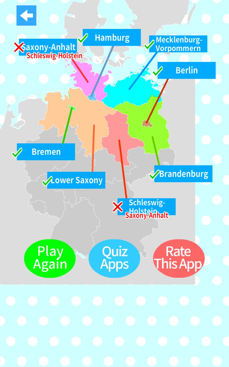 Map Of Germany Quiz.Germany States Map Quiz For Android Apk Download