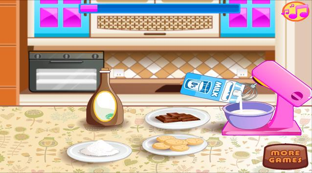 Baking and Cooking Chocolate Cake: Girl Fun Bakery poster