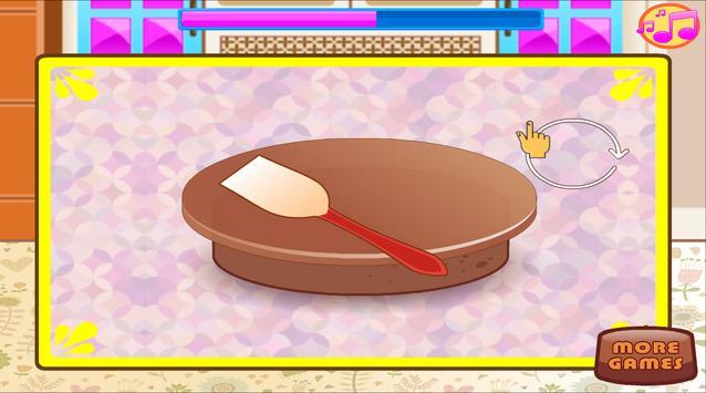 Baking and Cooking Chocolate Cake: Girl Fun Bakery screenshot 21