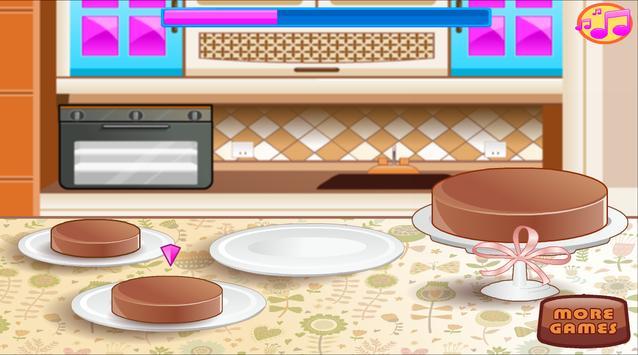 Baking and Cooking Chocolate Cake: Girl Fun Bakery screenshot 22