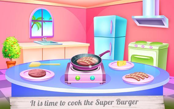 Huge Super Burger Cooking screenshot 14