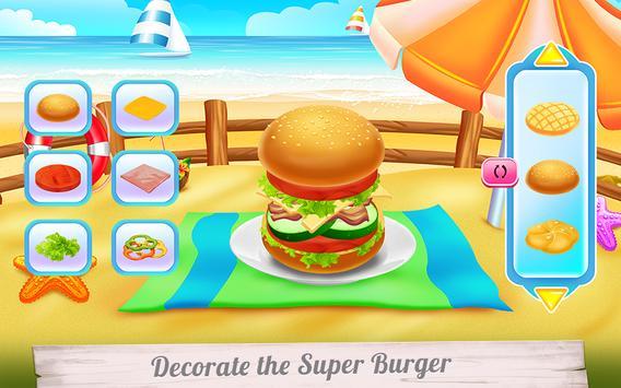 Huge Super Burger Cooking screenshot 7