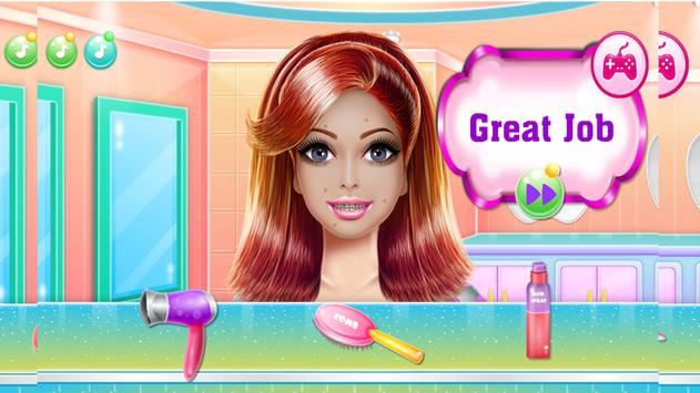 Games Hair Salon:  love  Hairstyle Color Makeover screenshot 15