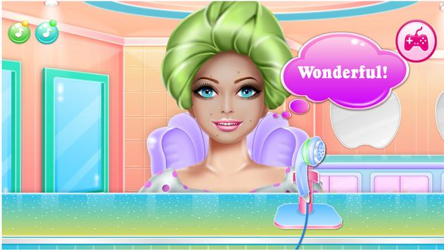 Games Hair Salon:  love  Hairstyle Color Makeover screenshot 17
